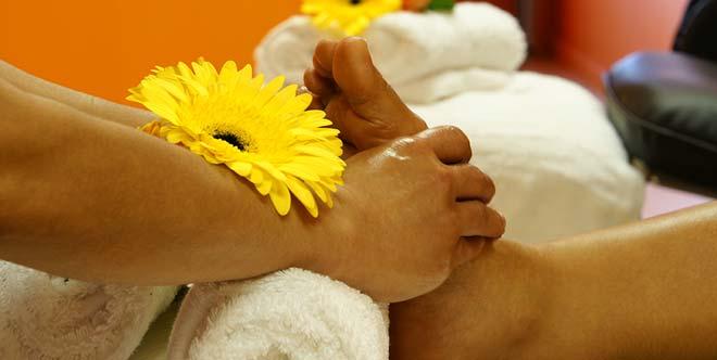 Reflexology Foot Massage, Thai Style